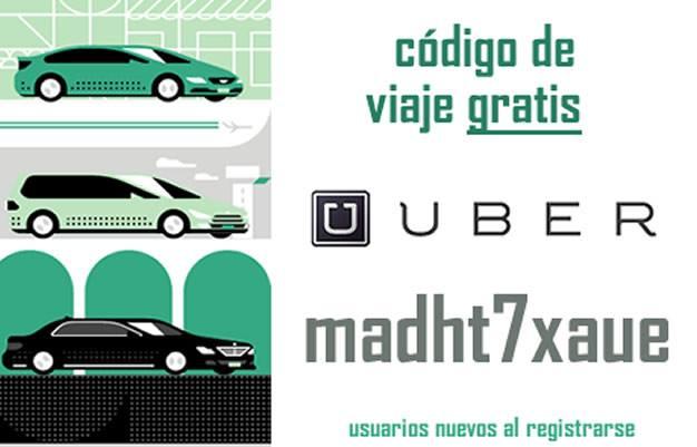 Código uber descuento